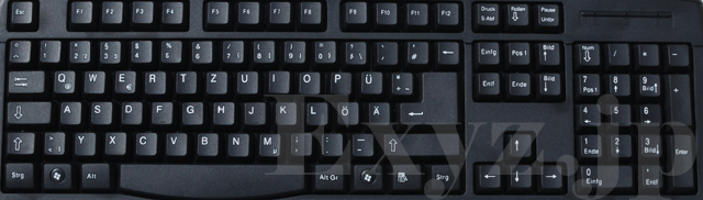 german keyboard qwertz layout