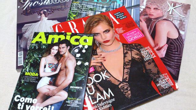 Book moda Magazine, Book Moda Sposa, AMICA, GRAZIA, GRAZIA CASA