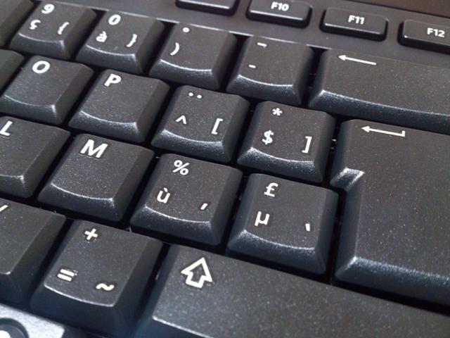 フランス語 azerty配列 キーボード USB